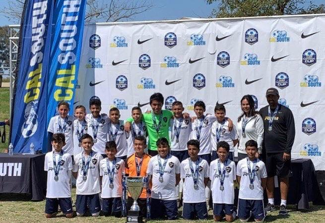 Rebels U13 Boys Win CalSouth National Cup with Class