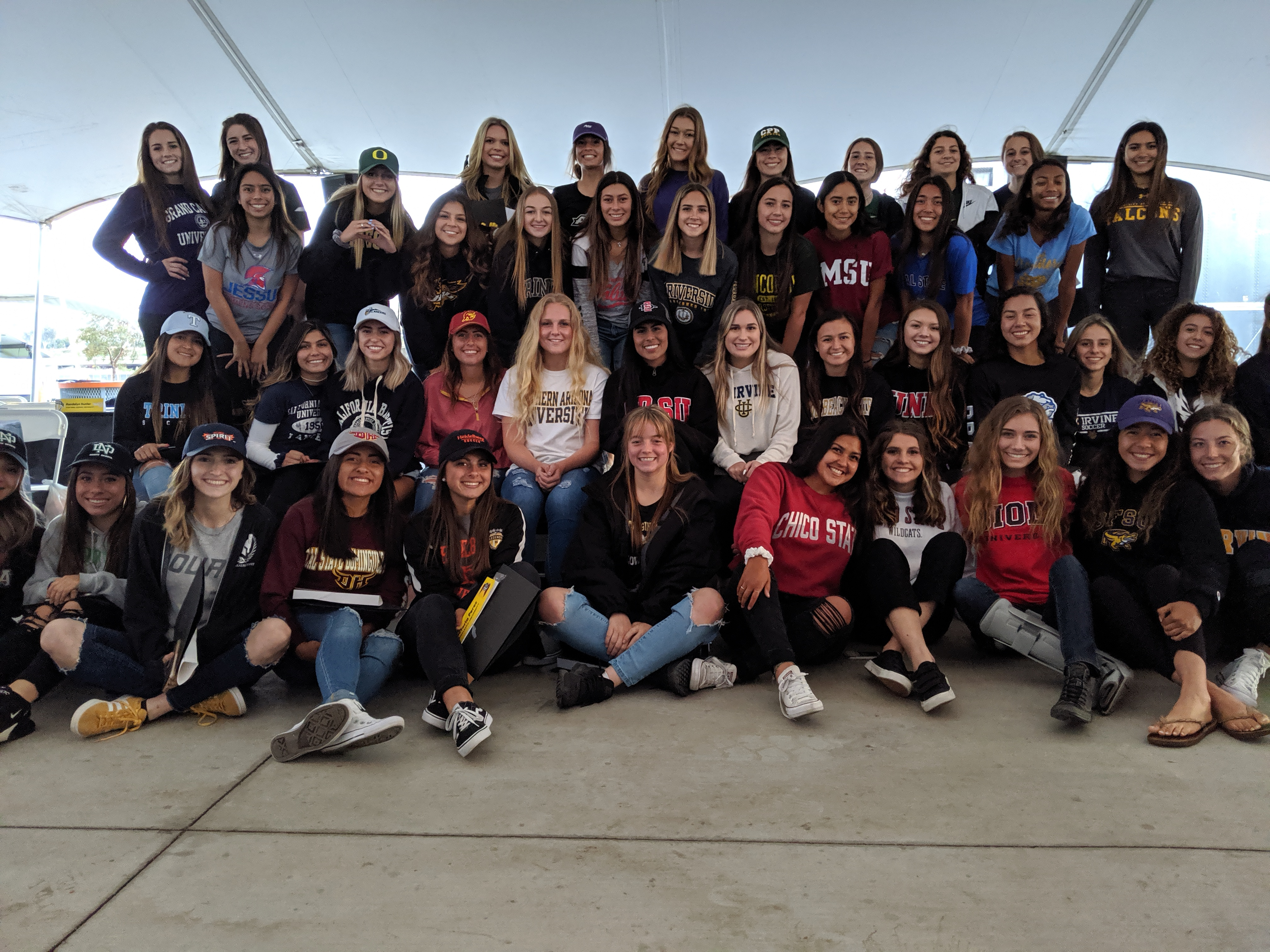 Legends FC Class of 2019: 72 Players Headed to College Soccer