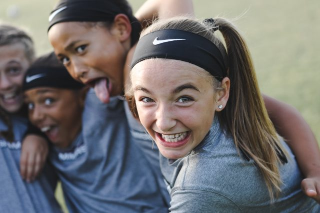 Meet Nike's Newest Young Star, And Her Slammers FC Team