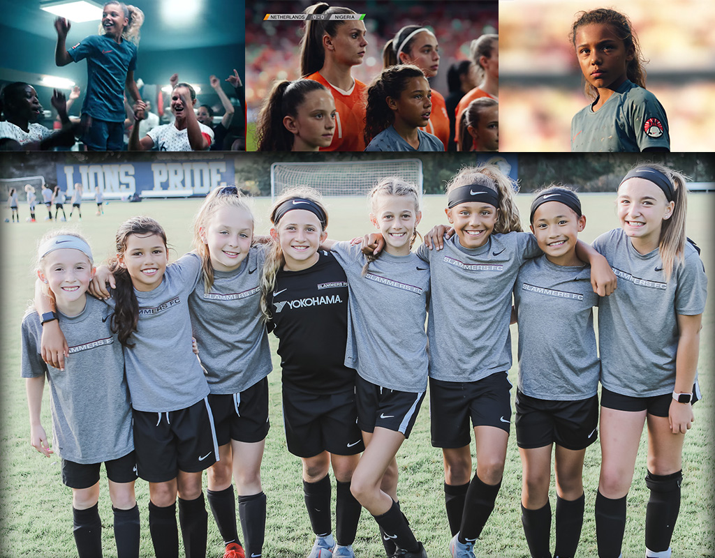 Meet Nike's newest young star, and her Slammers FC team. #DREAMFURTHER