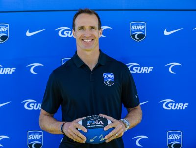 NFL Legend Drew Brees Joins Surf Sports
