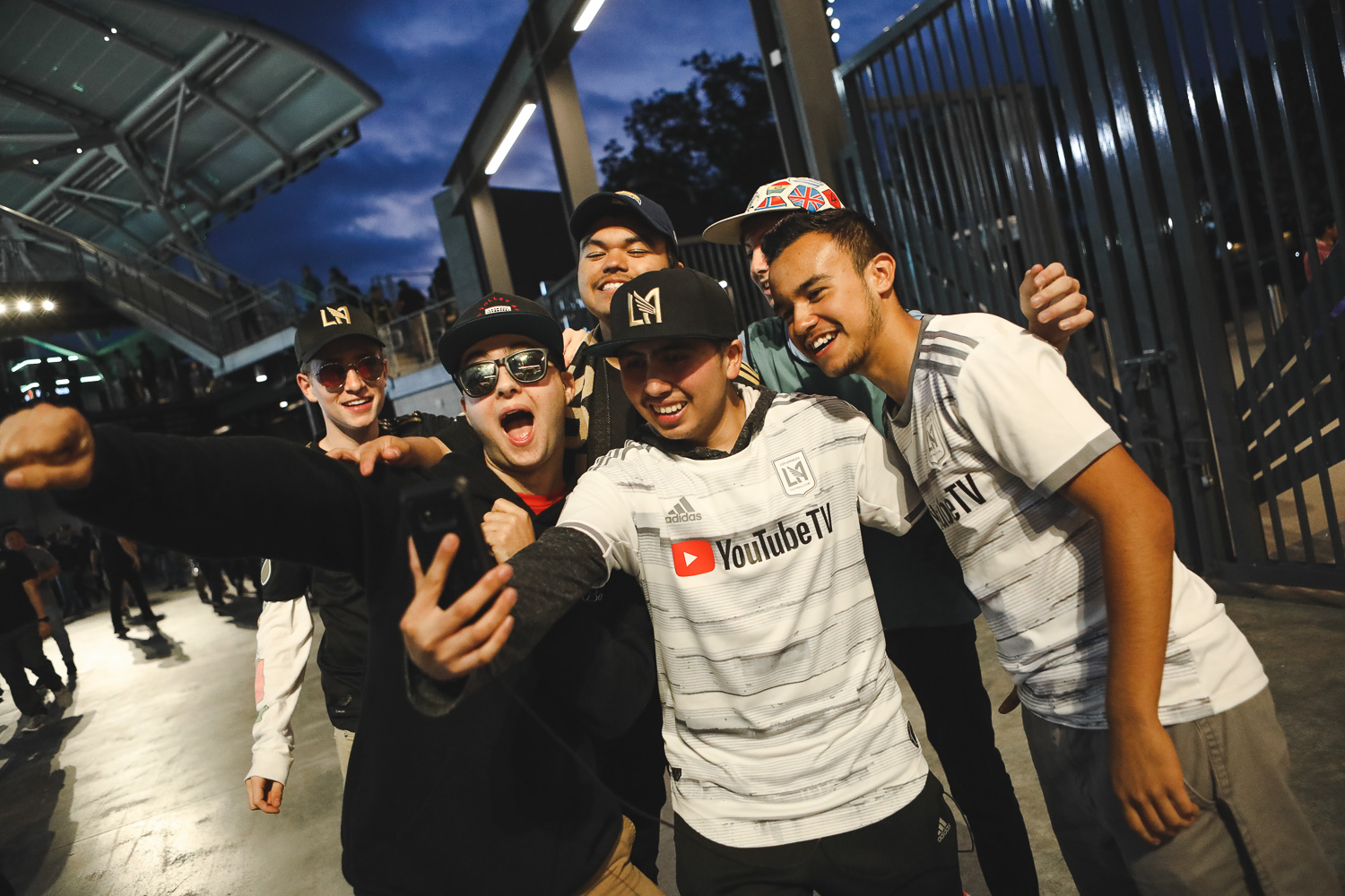 El Traffico is coming. And LAFC's young influencers are all over it.