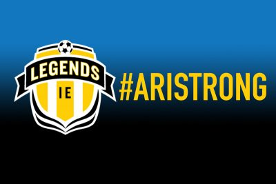 IE Legends rally around their teammate and remain #AriStrong