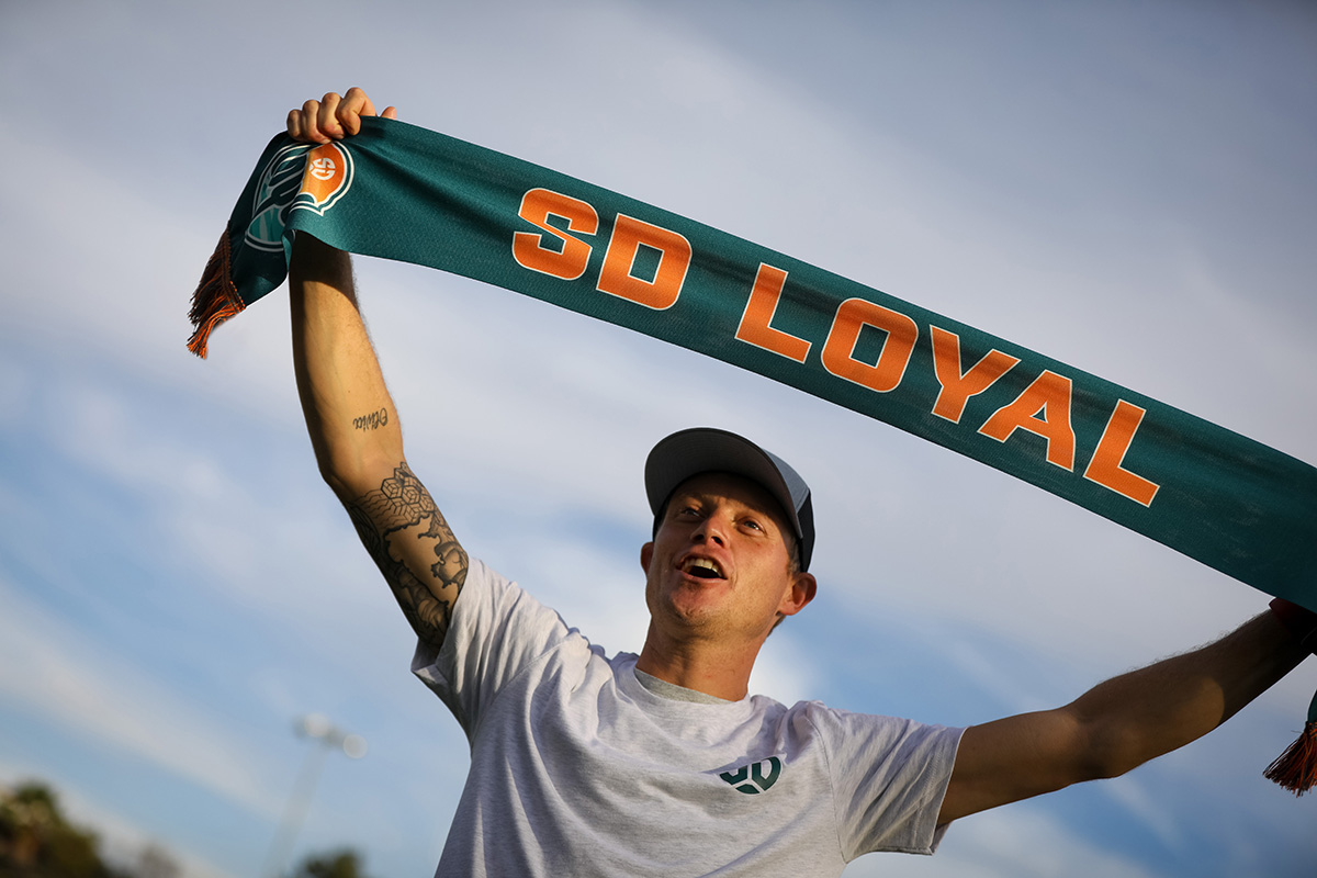 Meet SD Loyal's Sal Zizzo & Pick Up the First Fan Gear Fri Dec 13 at Soccerloco