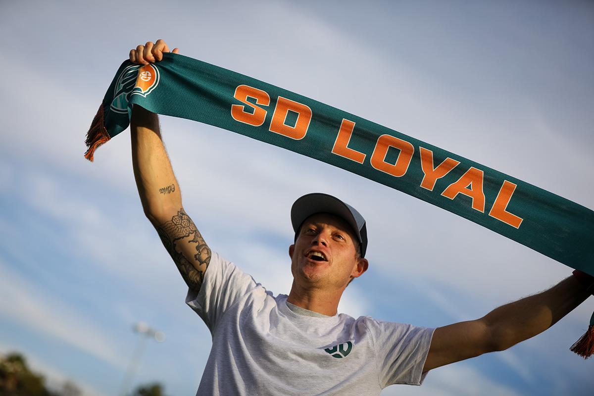 Meet SD Loyal's Sal Zizzo & Pick Up the First Fan Gear Fri Dec 13 at Soccerloco