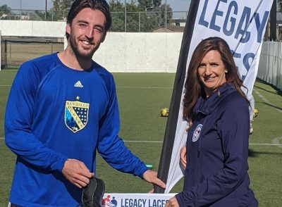 SOCKERS & LEGACY LACES TO HELP KIDS PLAY SPORTS