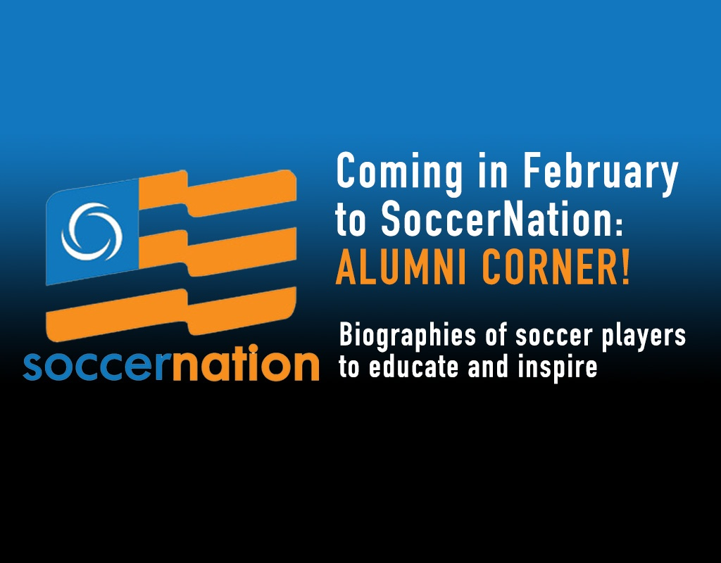 Coming to SoccerNation: Alumni Corner