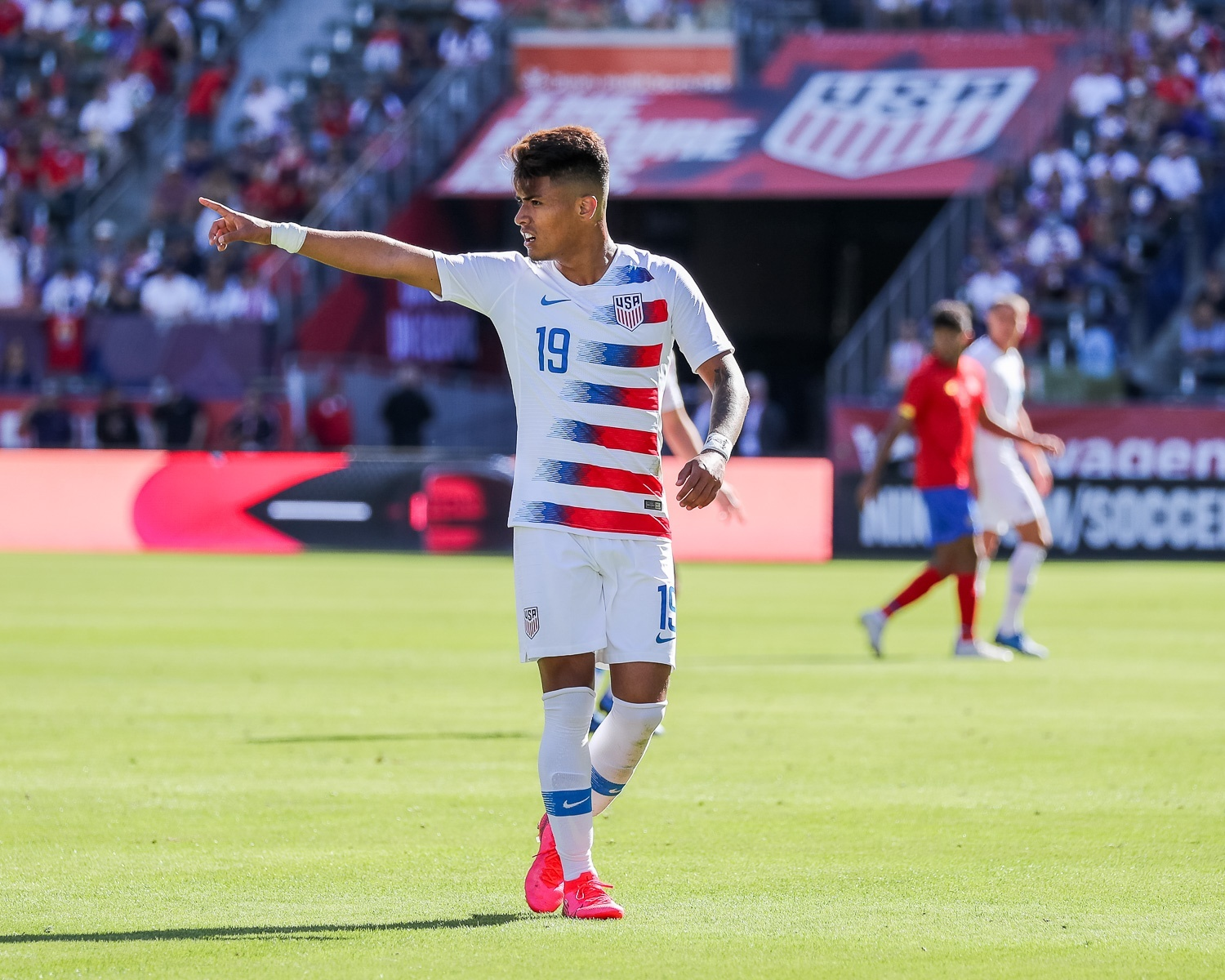 Young Players Give Optimism for US Mens National Team