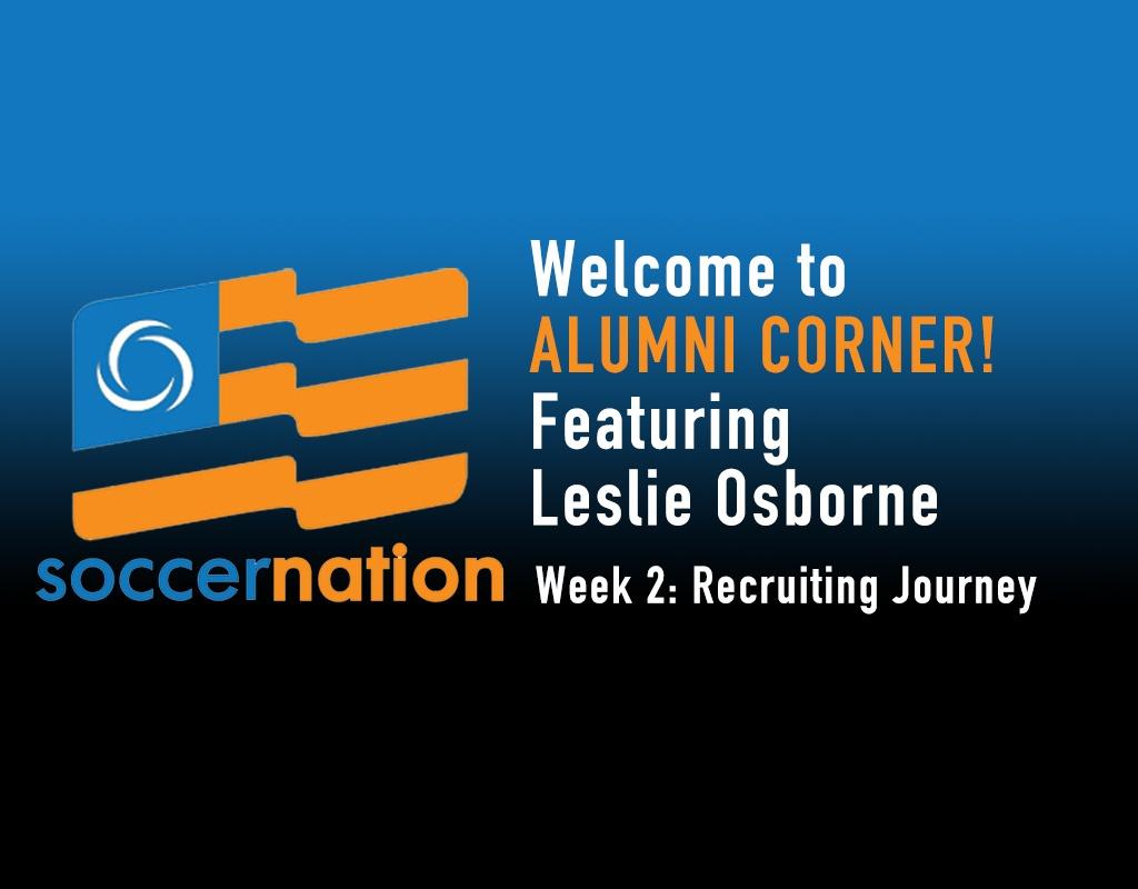 Alumni Corner: Leslie Osborne, the high school years