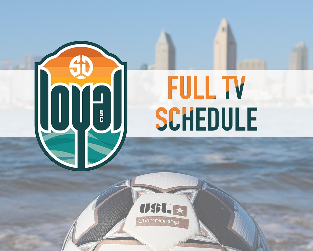 San Diego Loyal SC games to be broadcast locally on the CW. See full TV schedule here