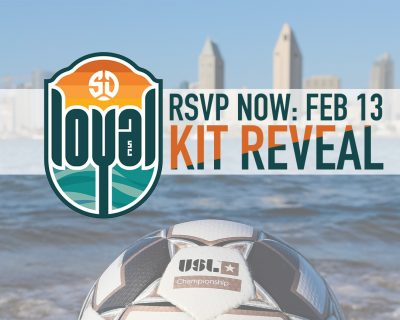 SD Loyal Kit Reveal Event Feb 13: You'll want to be there