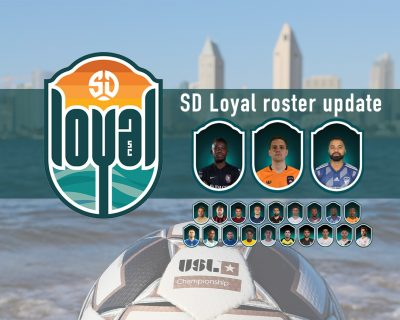 SD Loyal Roster Update, and Adidas and Soccerloco got tickets for you!