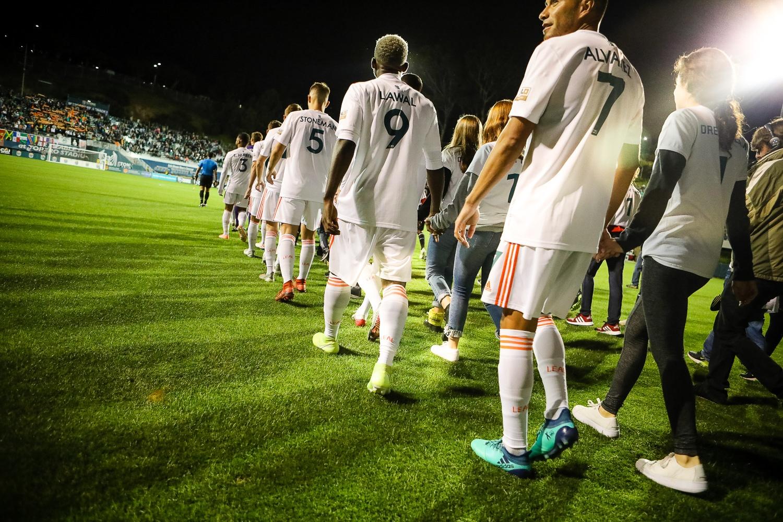 San Diego Loyal Soccer Club Kicks Off Their Inaugural USL Season with 1-1 Tie