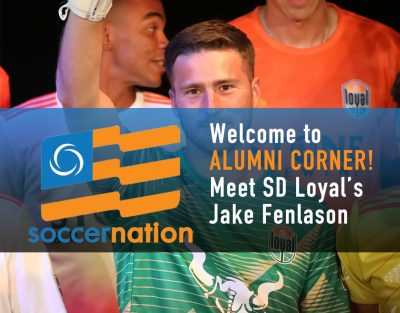 Alumni Corner: Meet SD Loyal's Jake Fenlason