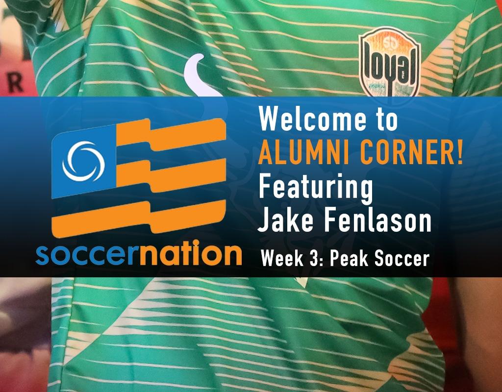 Alumni Corner: Jake Fenlason, Peak Soccer
