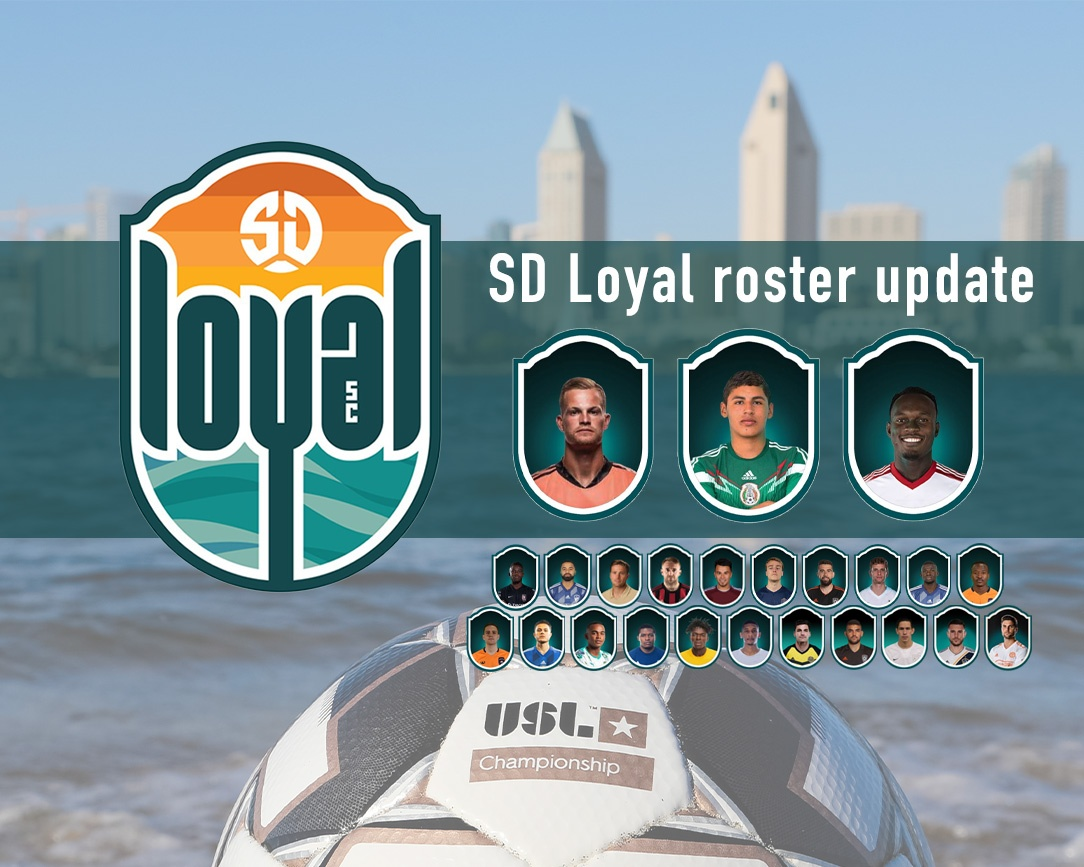 San Diego Loyal SC announces trio of new signings on the eve of the 2020 USL Championship season