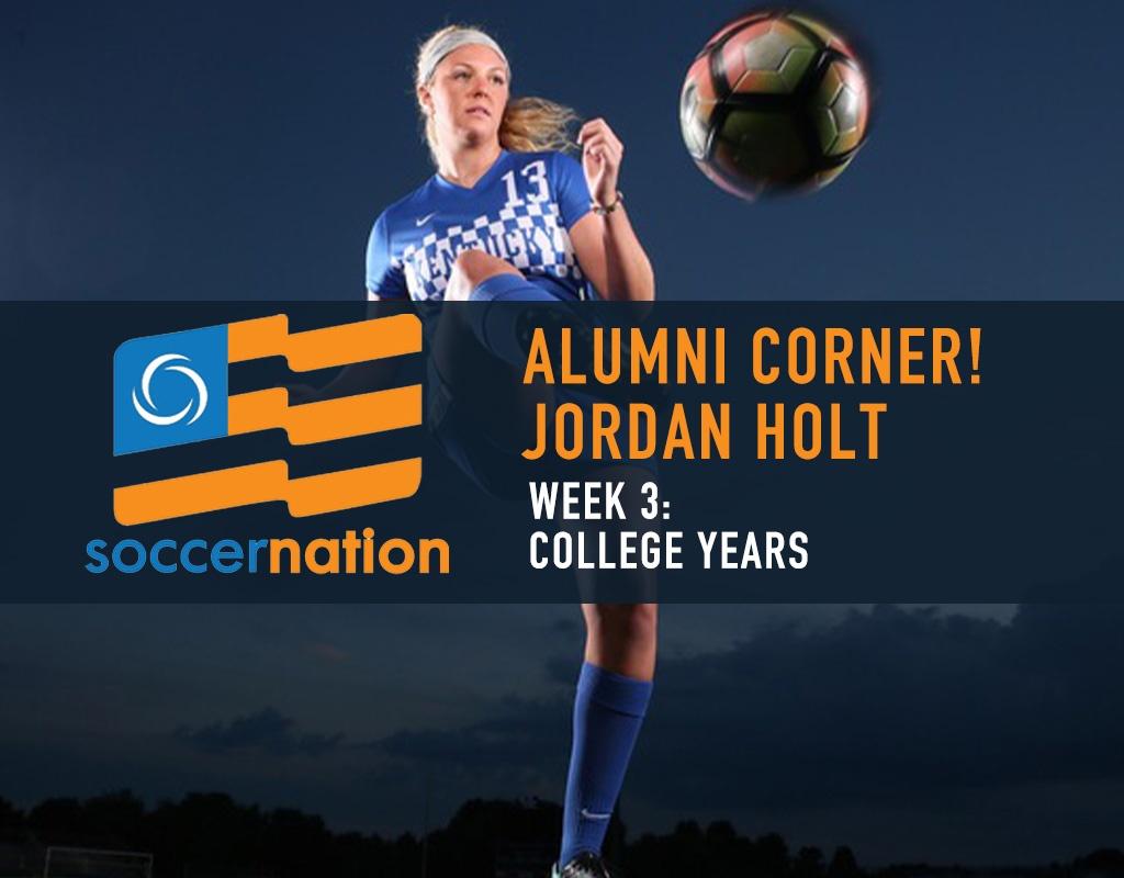 ALUMNI CORNER! ECNL Alum, Jordan Holt: College Years