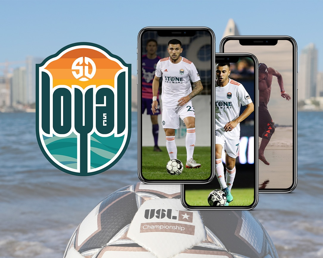 It's a San Diego Loyal Wallpaper Weekend! and 25% off at soccerloco