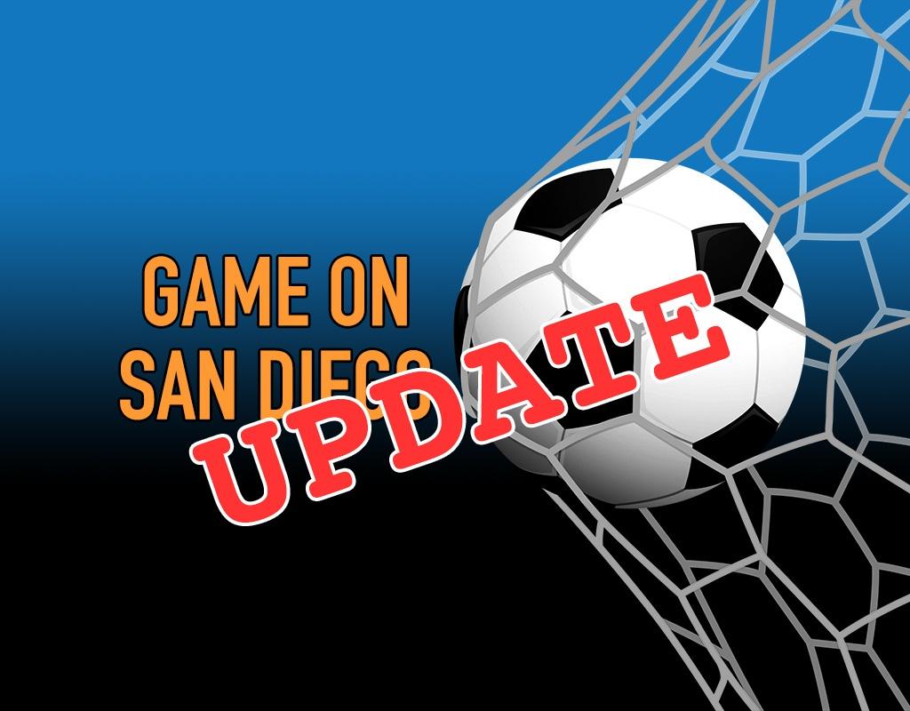 UPDATE: Game On San Diego Proposal Is Still Sitting on Newsom's Desk