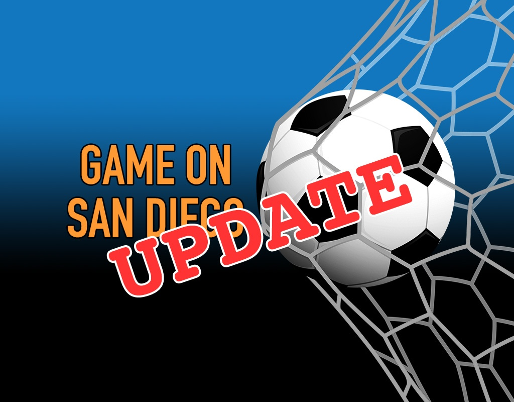 UPDATE: Game On San Diego Proposal Is Still Sitting on Newsom's Desk