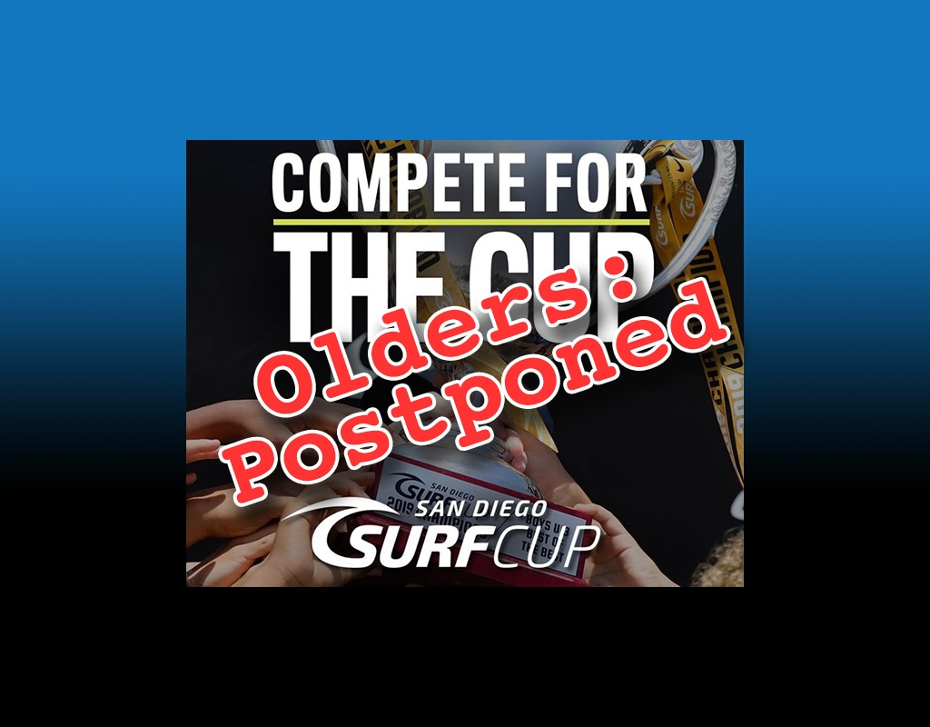 Covid-19 Tries to Claim Another Event: Surf Cup 2020 Olders Postponed