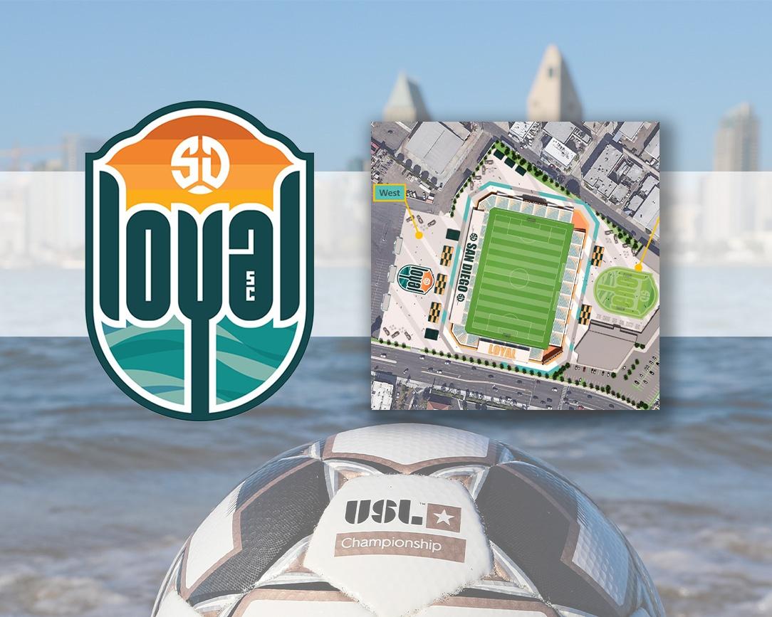 San Diego Loyal Eyes Sports Arena District for 15,000-seat Stadium