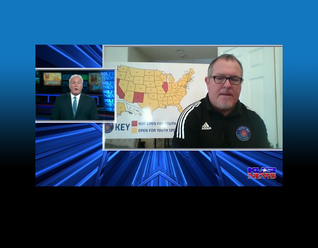 CITY SC's Michael Duggan on KUSI. It's time to let the kids play.