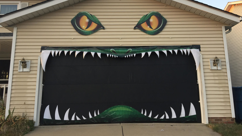 Halloween Ideas for your Garage Door Smartek Garage Doors