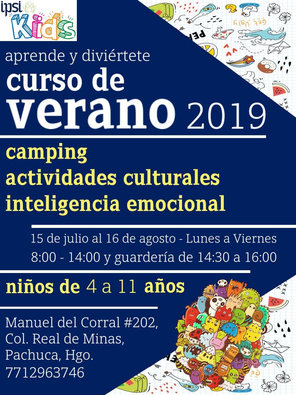 CARTEL VERANO KIDS