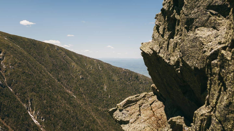 RMC Shelter nestled on the ridge