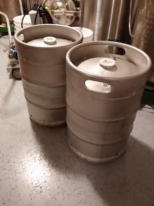 Syrup Kegs