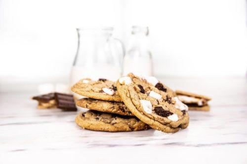 Chocolate Marshmallow cookie