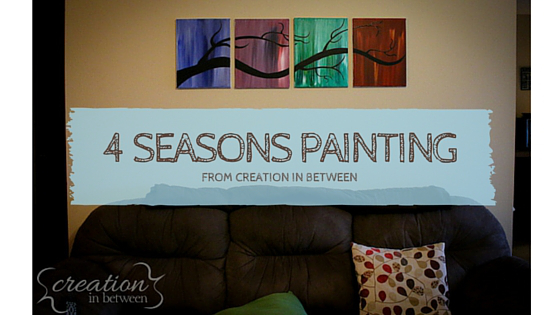 4 Seasons Tree Paintings