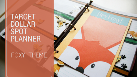 Foxy Theme for the Target Dollar Spot Planner