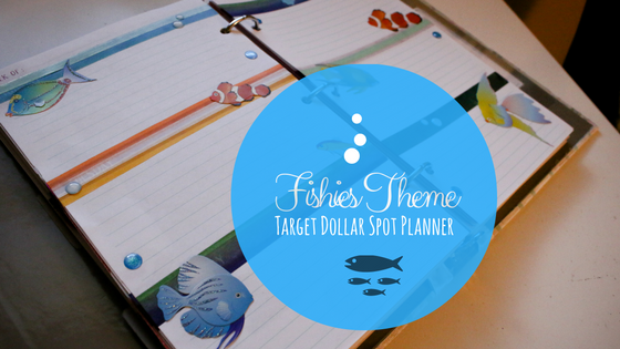 Fishies Weekly Spread for Target Dollar Spot Planner