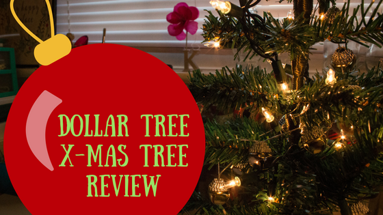 Dollar Tree Christmas Tree Review
