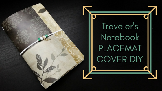 Make a Fauxdori Cover with a Placemat!
