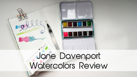 Jane Davenport Watercolors Review