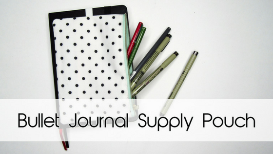 Bujo Supply Pouch Hack