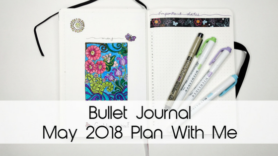 May Flowers Bullet Journal Theme