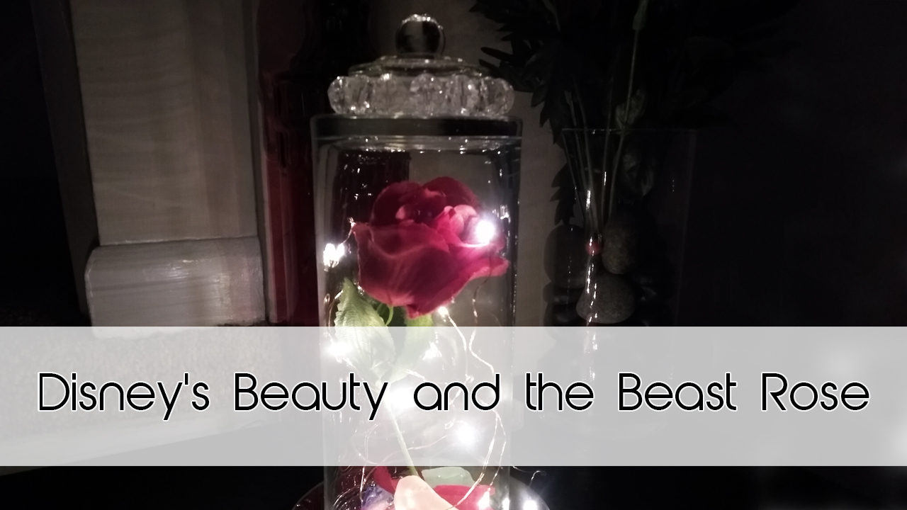 Beauty and the Beast Enchanted Rose | Dollar Tree DIY