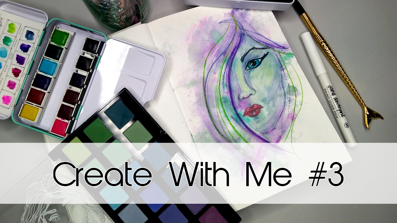 Create With Me #3 | Art Journal Series