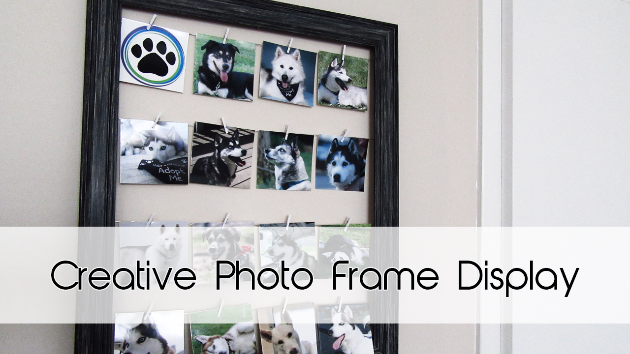 Creative Photo Frame Display | Home Decor