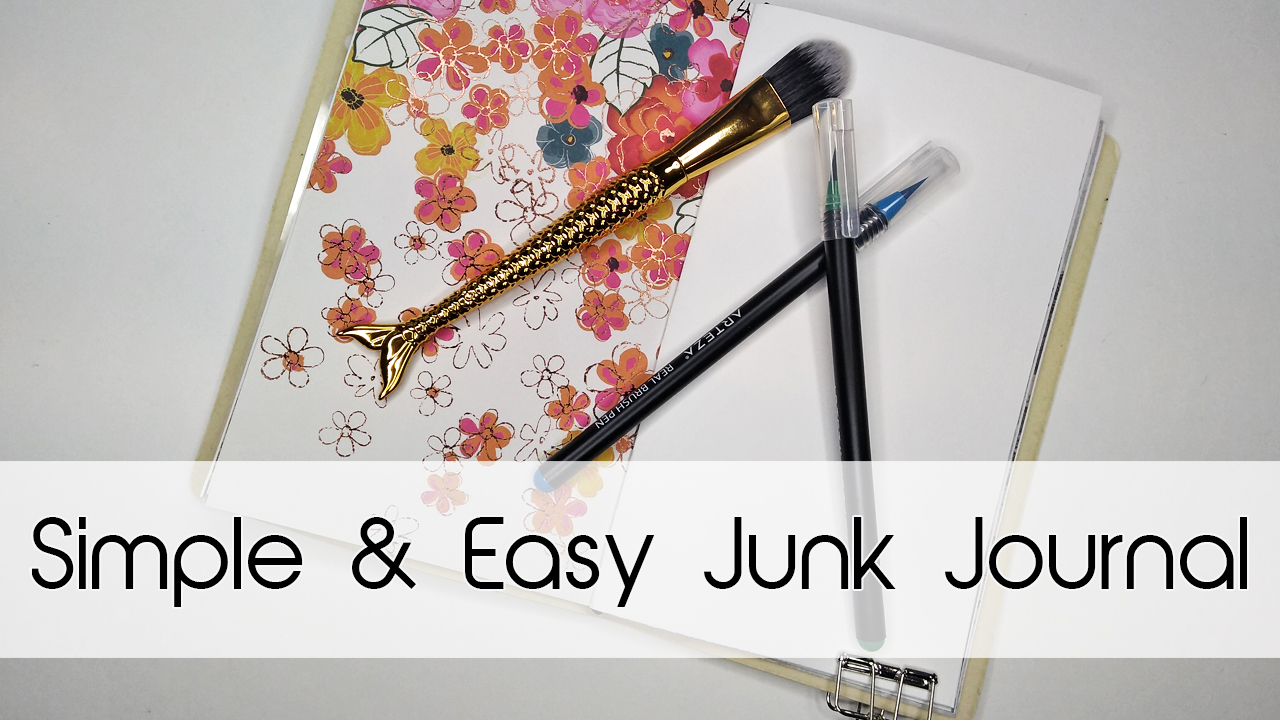 Simple & Easy Junk Journal | Traveler's Notebook Style!