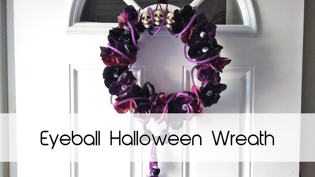 Eyeball Door Wreath | Dollar Tree Decor