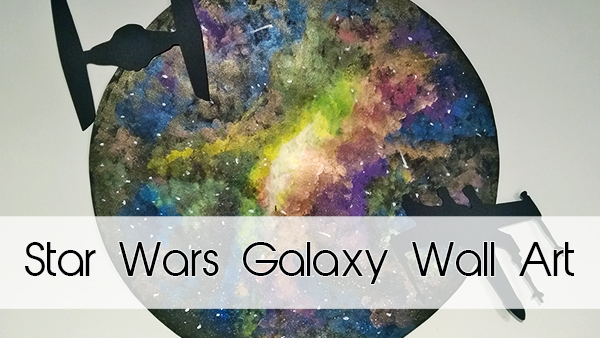 Star Wars Galaxy Wall Art
