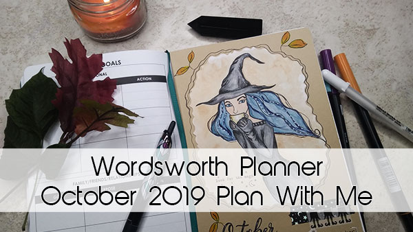 Wordsworth Planner October 2019 Plan With Me