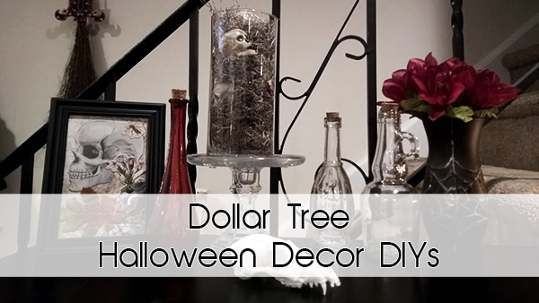 Dollar Tree Halloween Decor DIYs