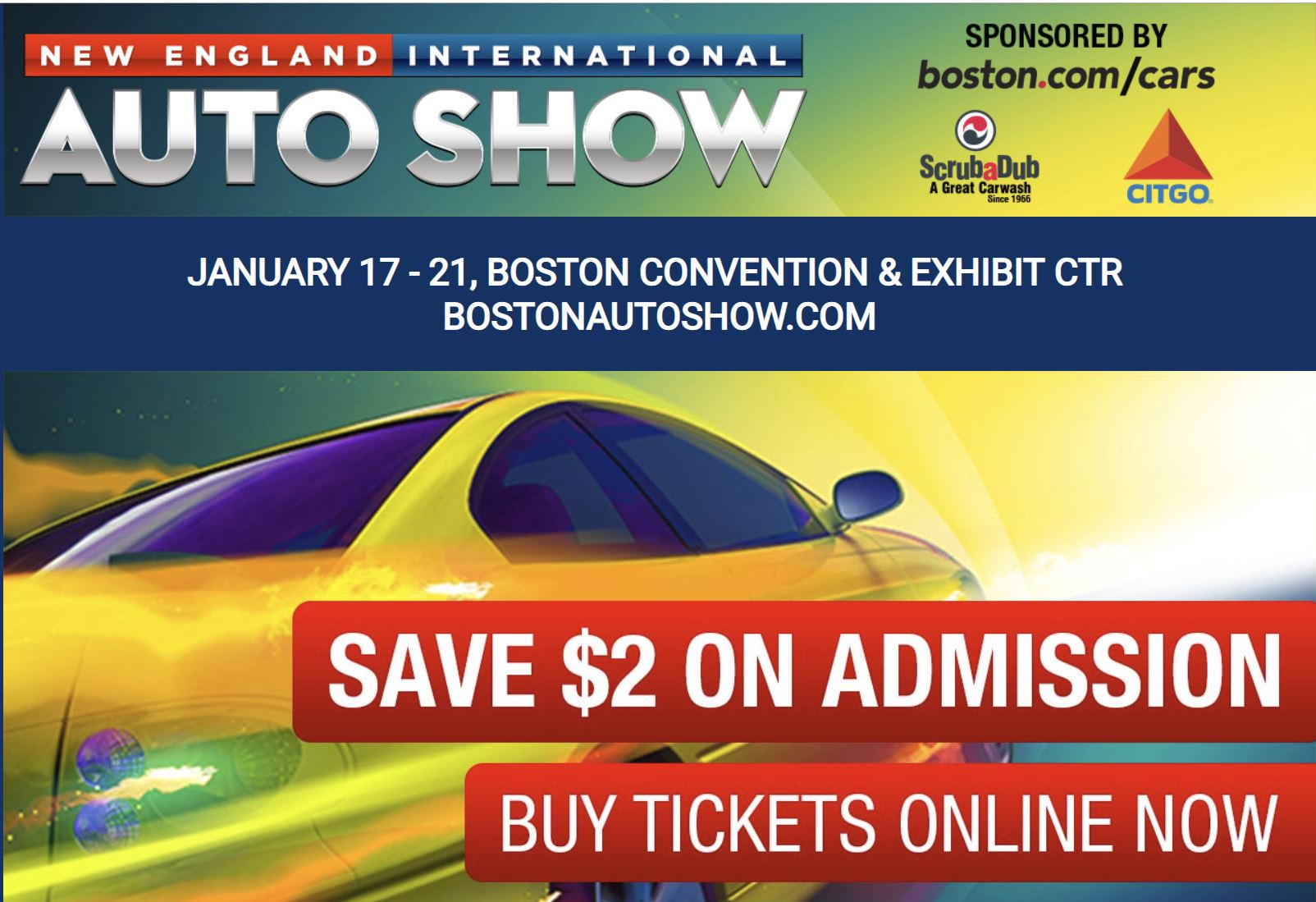 Come see NER at the Boston Auto Show Jan 17-21
