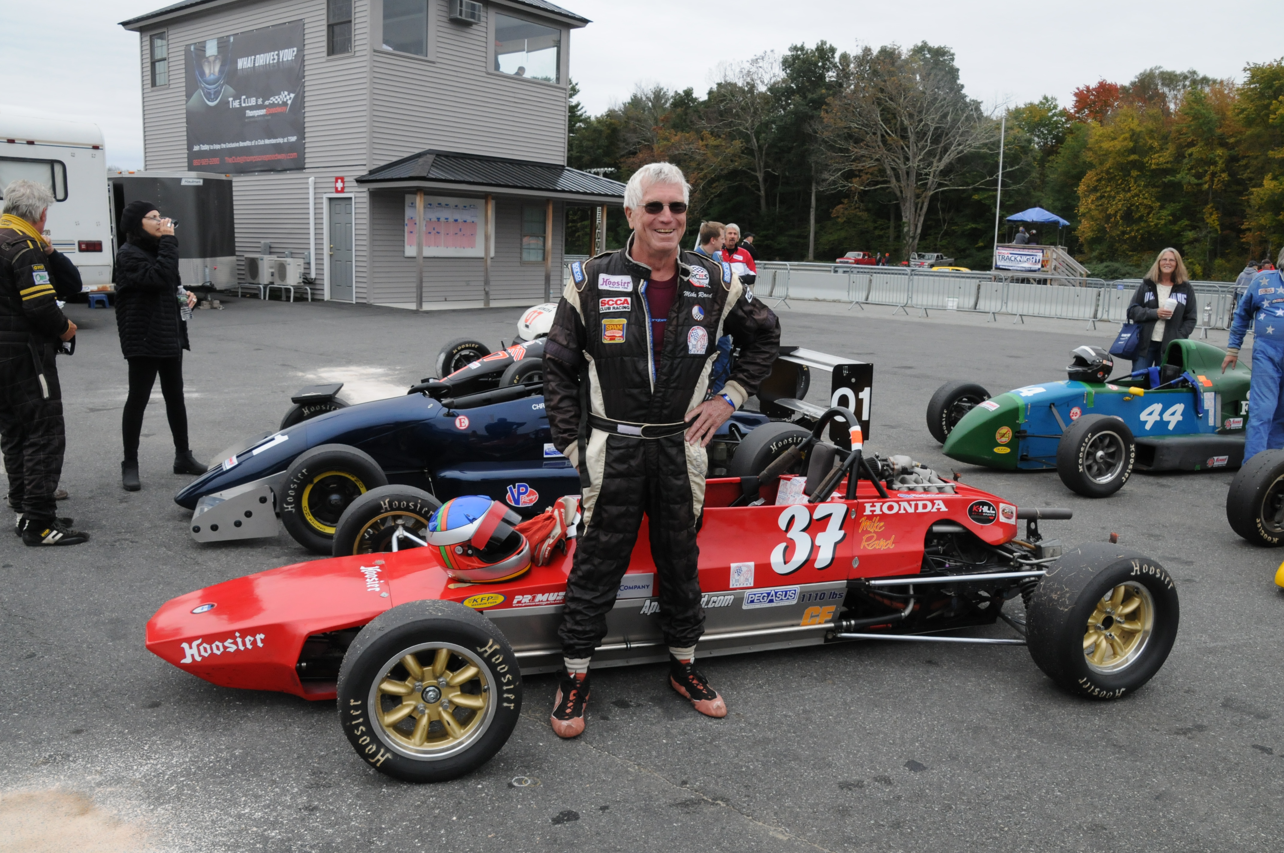 Mike Rand Marks 50-Years Between Starts at Thompson Speedway